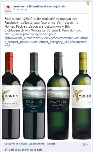 Predaj fancy vína cez Facebook? Whynot?